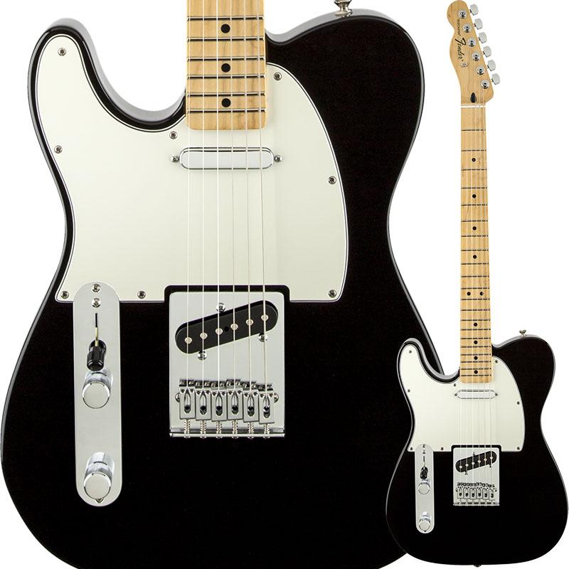 Fender Standard Telecaster Left-Handed (Black/Maple) [Made In Mexico] 【特価】