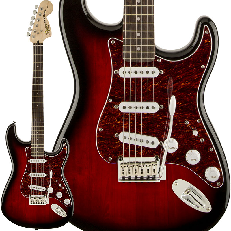 Squier by Fender Standard Stratocaster (Antique Burst/Laurel Fingerboard)