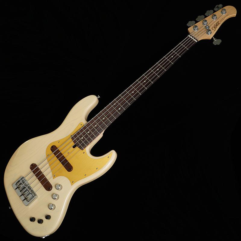 "Xotic XJ-1T 5-string ""Light Weight Series"" (White Blonde/Ash/R)"