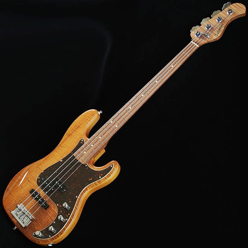 "Sadowsky TYO Classic Edge 4string P Bass ""Selected Koa Top/Reverse P"" (Vintage Tint Natural)"