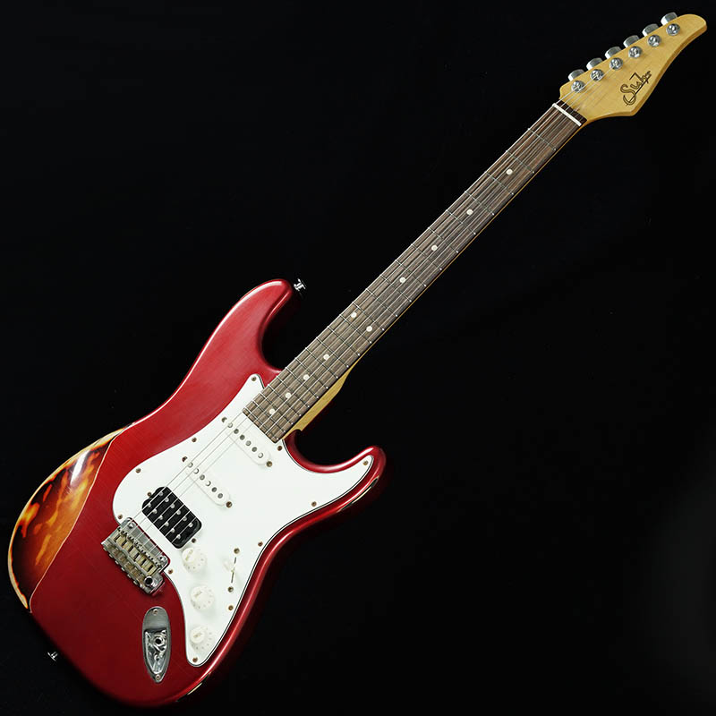Suhr Guitars 2017 Limited Edition Classic Antique Pro (Candy Apple Red over 3 Tone Burst/Indian Rosewood) [#JS1X3K] 【特価】