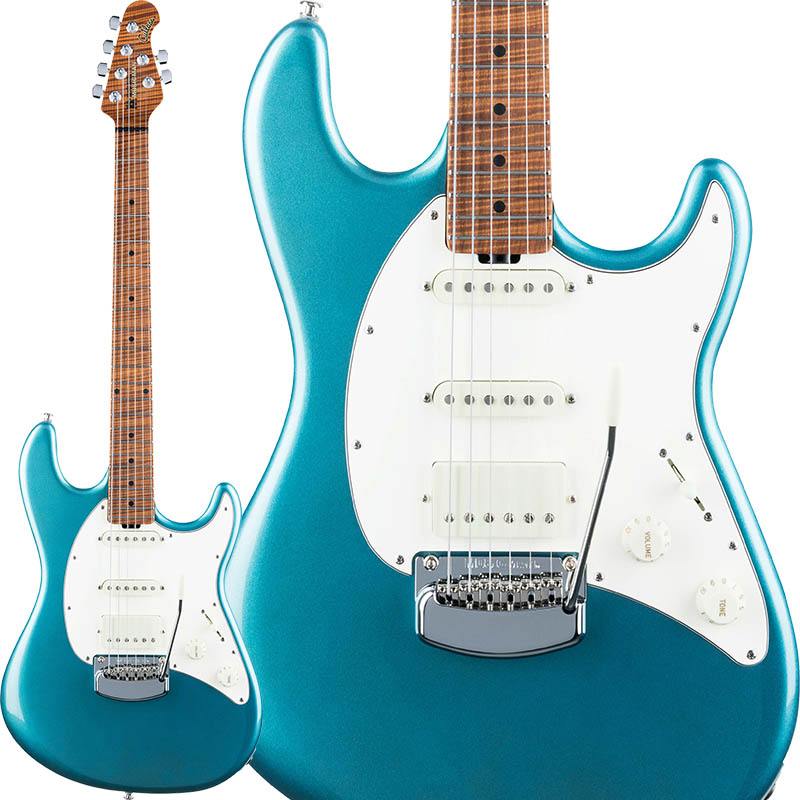 MUSICMAN Cutlass RS HSS (Vintage Turquoise/Roasted Figured Maple)