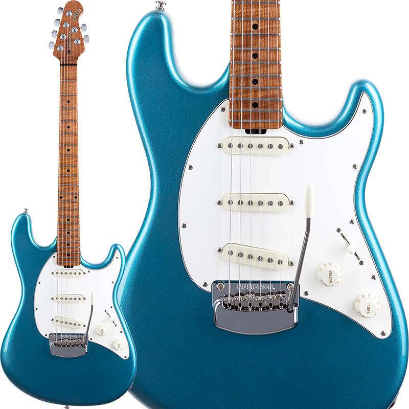 MUSICMAN Cutlass RS (Vintage Turquoise/Roasted Figured Maple)