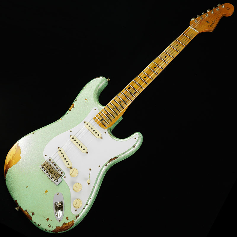 Fender USA CUSTOM SHOP TBC Limited Edition 1958 Strat Heavy Relic (Surf Green Sparkle 2-Tone Sunburst/Maple) 【当店スタッフ選定品!】 【ikbp5】
