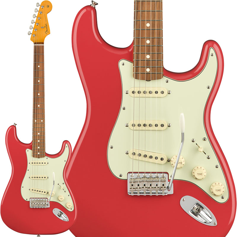 Fender Classic Series '60s Stratocaster Lacquer (Fiesta Red) [Made In Mexico] 【特価】