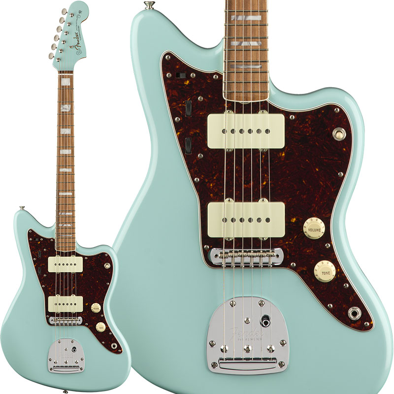 Fender Limited Edition 60th Anniversary Classic Jazzmaster (Daphne Blue/Pau Ferro) [Made In Mexico] 【ikbp5】