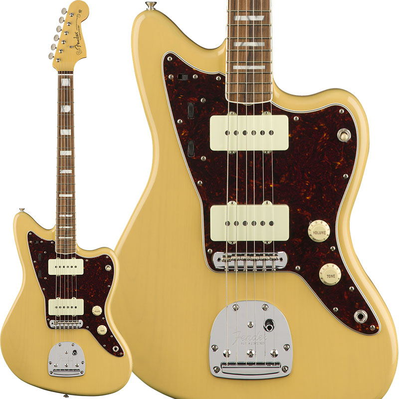 Fender Limited Edition 60th Anniversary Classic Jazzmaster (Vintage Blonde/Pau Ferro) [Made In Mexico] 【ikbp5】