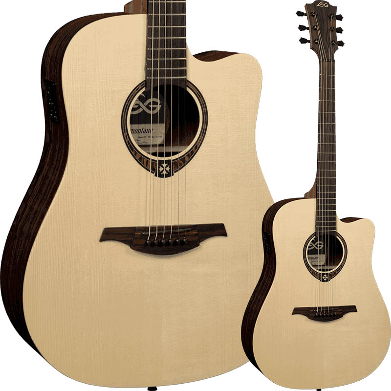 LAG Guitars T270DCE [TRAMONTANE 270 / DREADNOUGHT CUTAWEY]