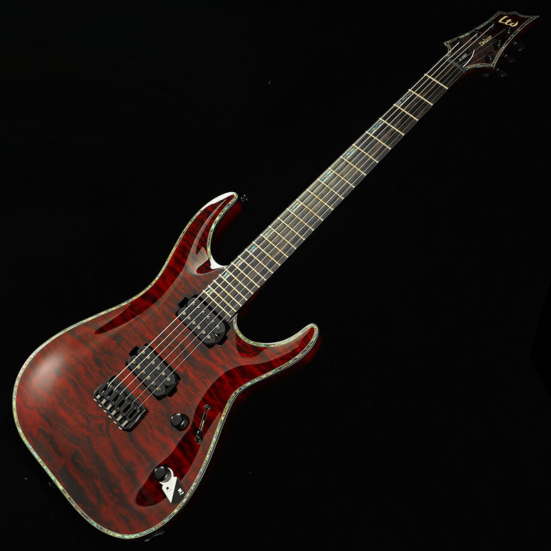 LTD H-1001QM (See Thru Black Cherry)