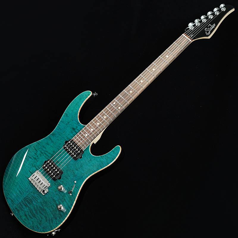 Suhr Guitars Japan Limited Model Pro Series Modern Pro Ash 510 HH Trans Teal/Pau Ferro [#JS0M8L] 【特価】