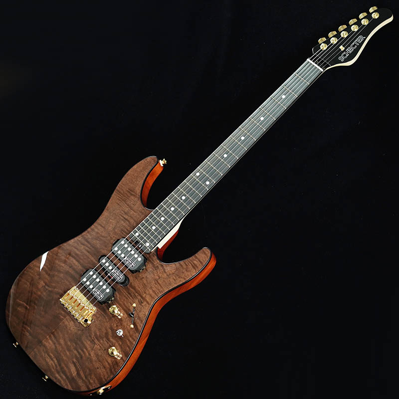 SCHECTER Limited Model NV-DX-24-MH-VTR/E (CLARO WALNUT)