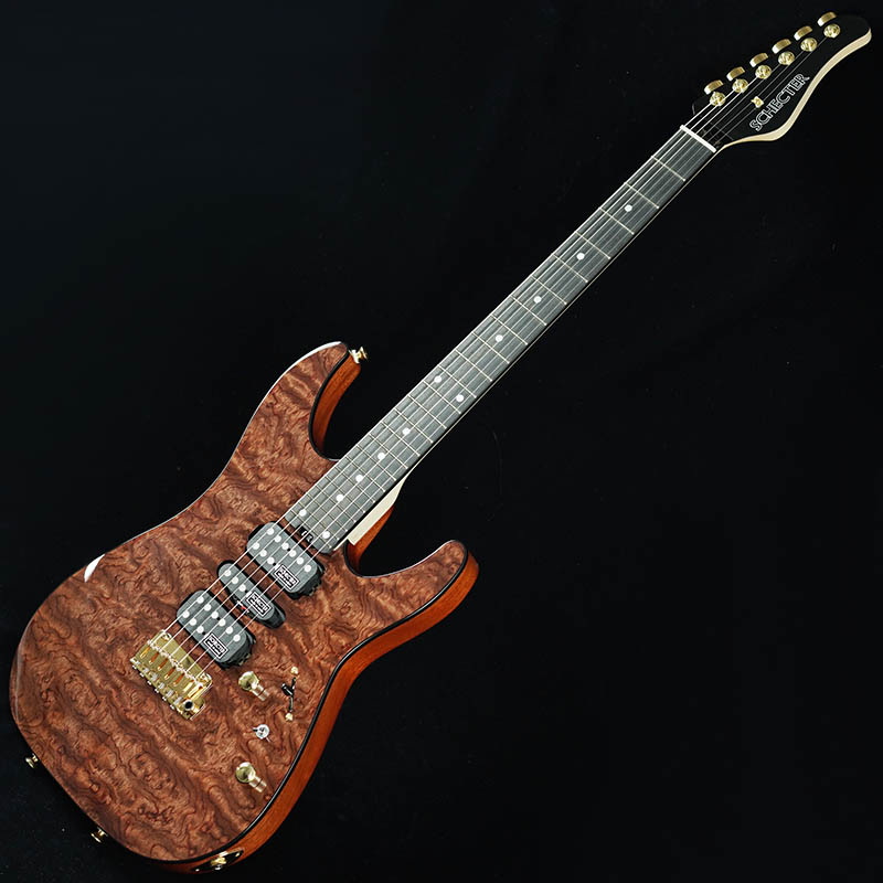 SCHECTER Limited Model NV-DX-24-MH-VTR/E (QUILTED BUBINGA)