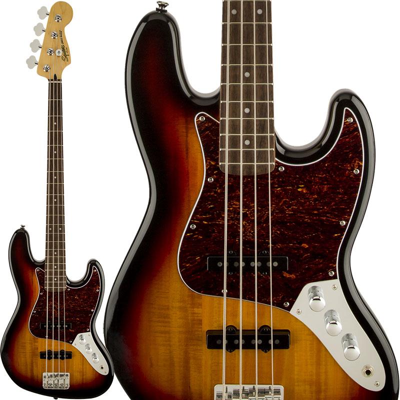 Squier by Fender Vintage Modified Jazz Bass (3-Color Sunburst) 【特価】