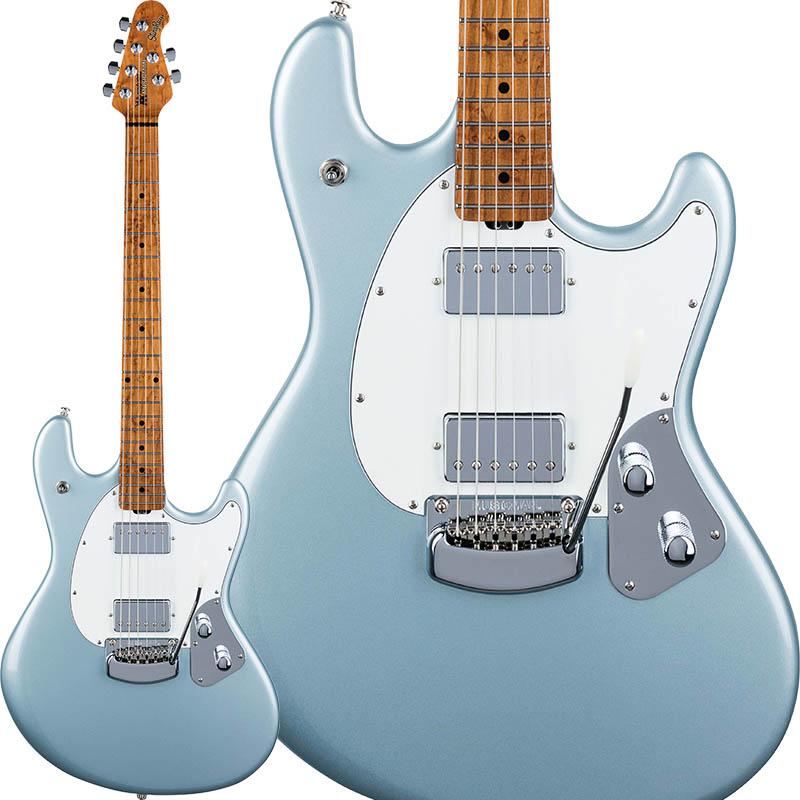 MUSICMAN StingRay Guitar RS (Firemist Silver/Roasted Figured Maple)