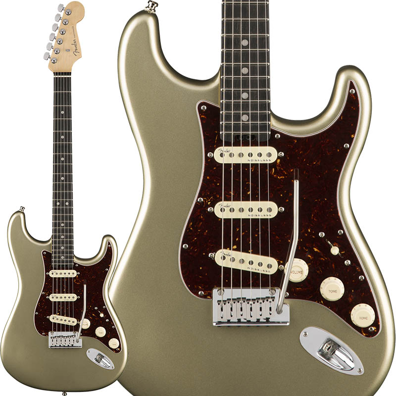 Fender American Elite Stratocaster (Champagne/Ebony) [Made In USA] 【特価】