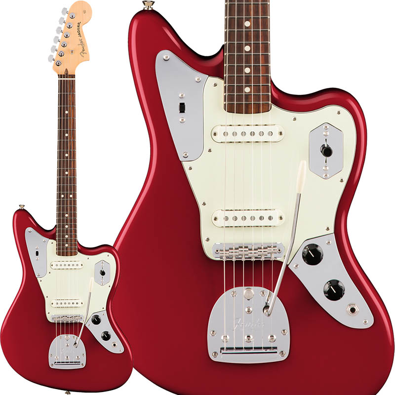 Fender American Professional Jaguar (Candy Apple Red/Rosewood) [Made In USA] 【特価】