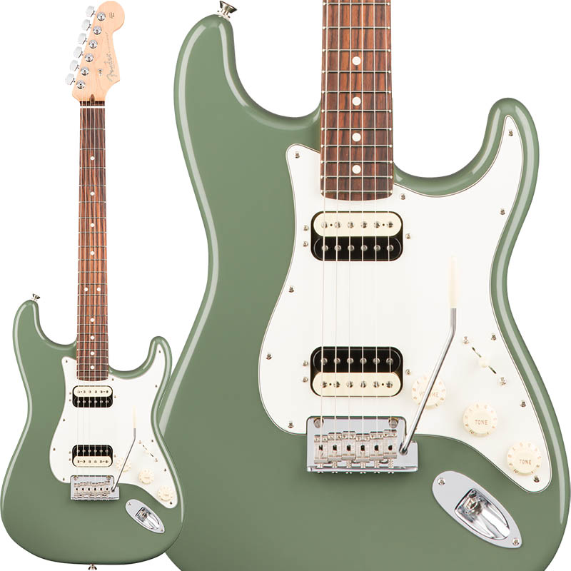 Fender American Professional Stratocaster HH Shawbucker (Antique Olive/Rosewood) [Made In USA] 【特価】