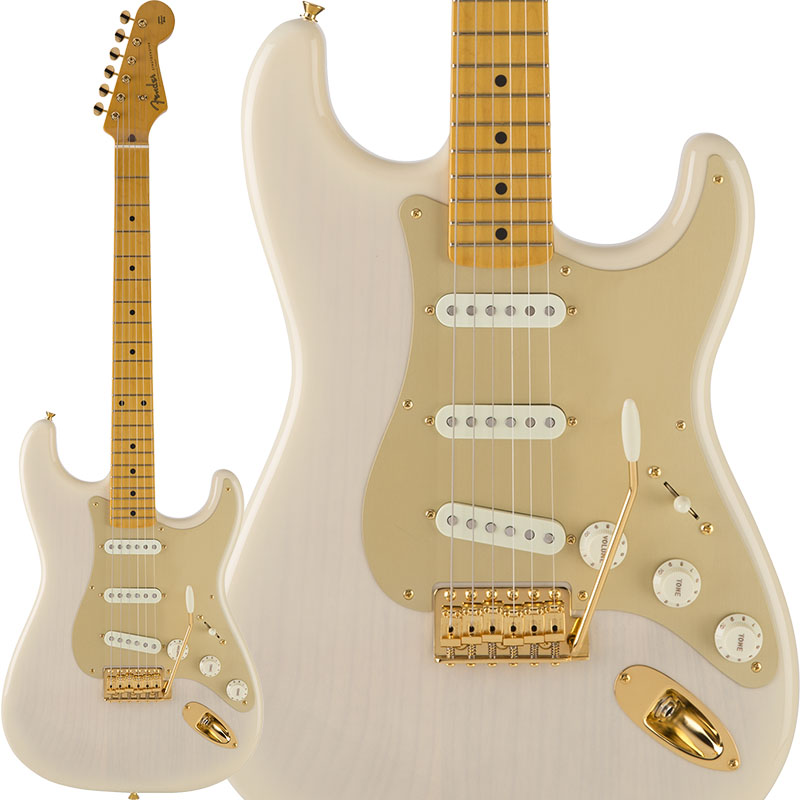 Fender Traditional 50s Stratocaster Anodized (White Blonde) [Made in Japan] 【ikbp5】