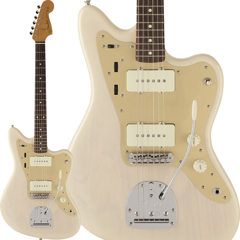 Fender Traditional 60s Jazzmaster Anodized (White Blonde) [Made in Japan] 【ikbp5】