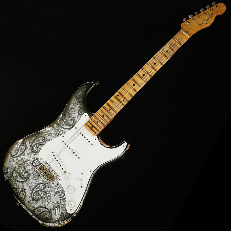 最も優遇の Fender CUSTOM SHOP 2018 NAMM Limited SHOP Heavy Relic (Black 2018 Mischief Maker Stratocaster (Black Paisley)【ikbp5】, 古着、USED専門百貨店BIG2nd:f8911432 --- informesynoticiascordoba.com