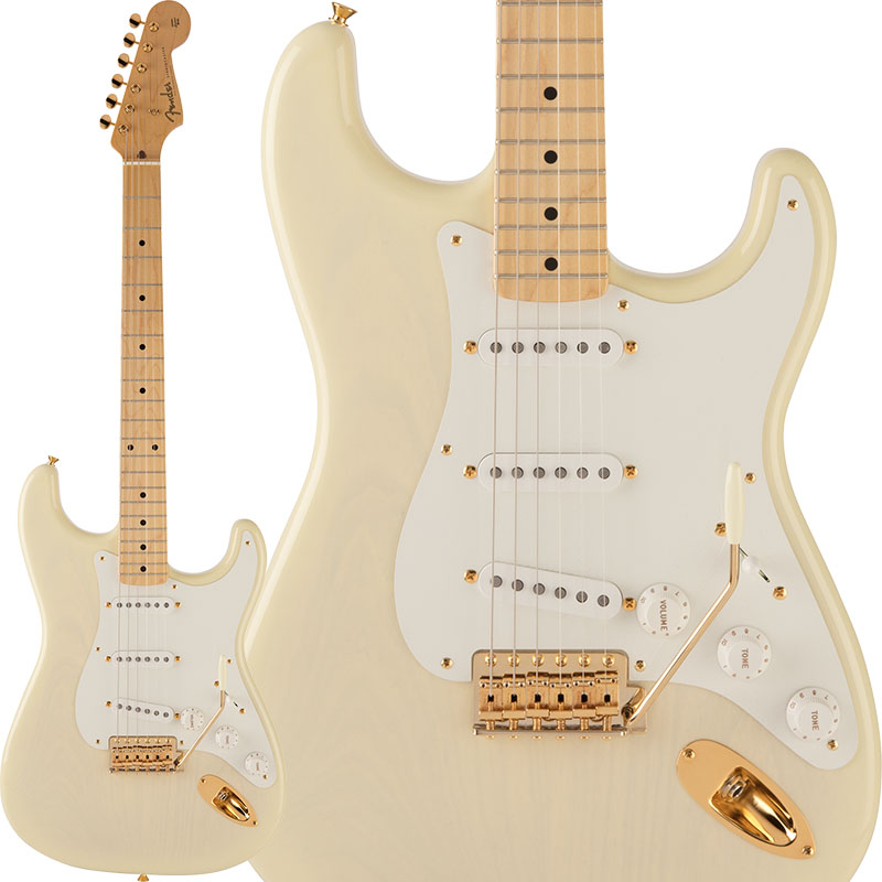 Fender 2018 Limited Collection 50s Stratocaster (White Blonde) [Made in Japan] 【ikbp5】