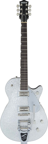 GRETSCH G6128T Players Edition Jet FT with Bigsby (Silver)