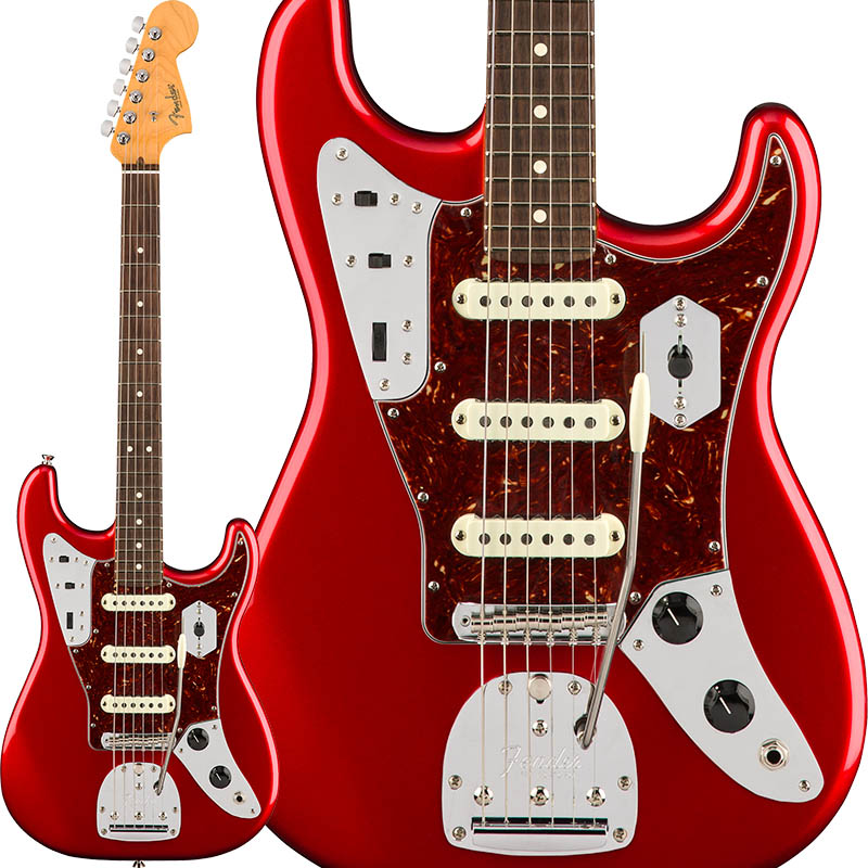 Fender Limited Edition Jag Stratocaster (Candy Apple Red) [Made In USA] 【ikbp5】