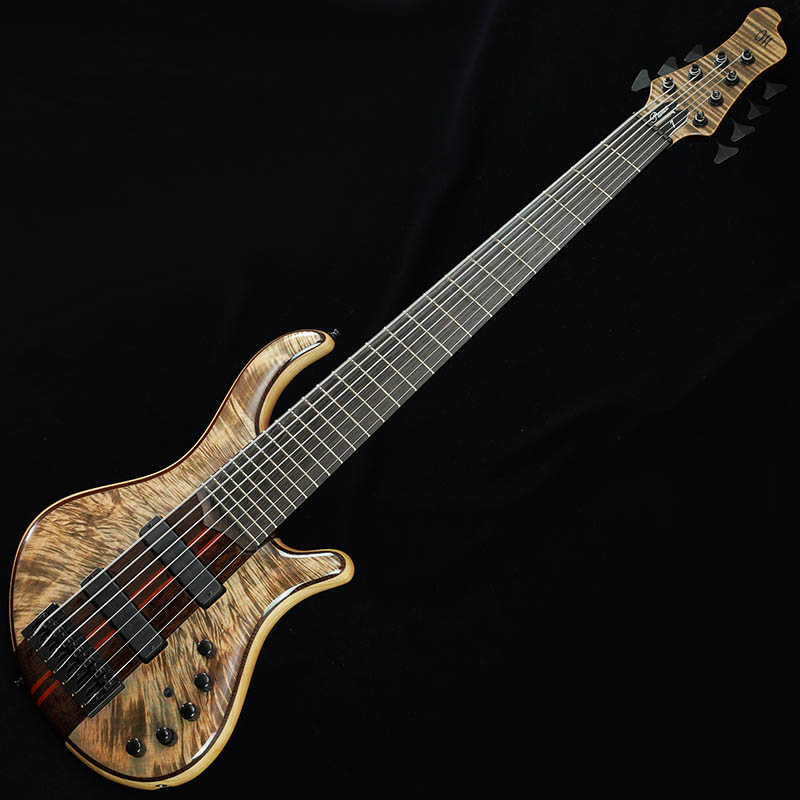 """MAYONES PATRIOT CUSTOM 7st """"Hand Selected 5A Flame Maple Top"""" (T-JNSBLK-G) 【Mayonesファクトリーツアー現地選定品】"""