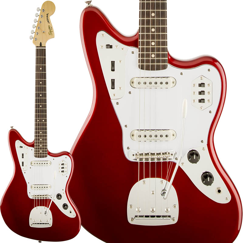 Squier by Fender Vintage Modified Jaguar (Candy Apple Red) 【期間限定プライス】