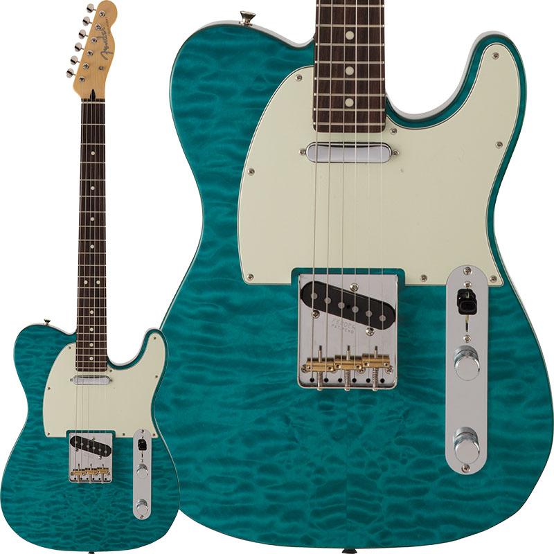 【開店記念セール!】 Fender FSR Made [Made in Japan【ikbp5】 Hybrid 60s Telecaster FSR Quilt Top (Transparent Green) [Made in Japan]【ikbp5】, ホウジョウシ:efd07750 --- business.personalco5.dominiotemporario.com