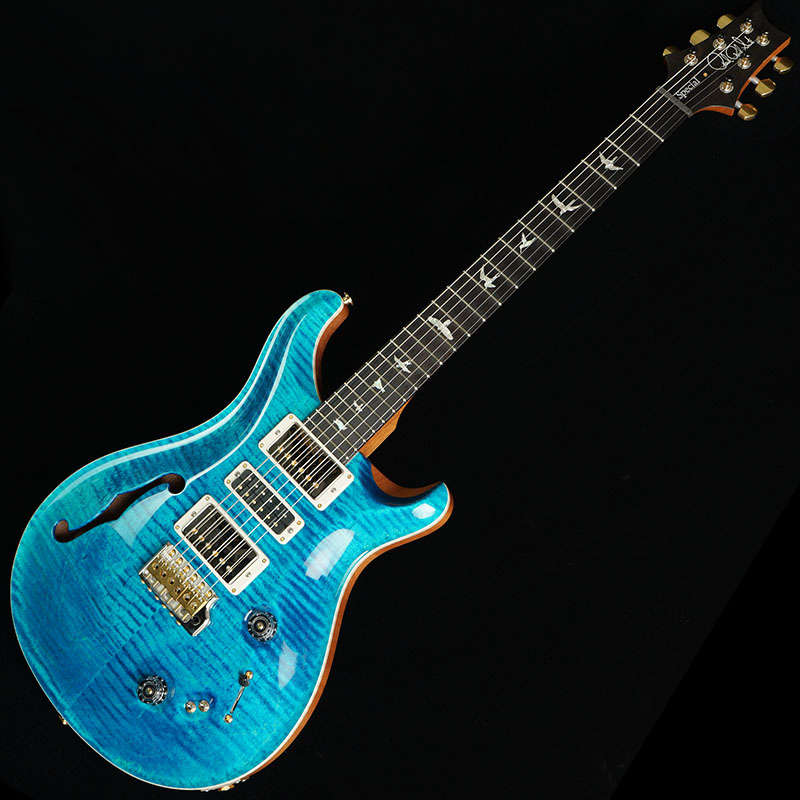 P.R.S. Wood Library Special Semi-Hollow / Blue Matteo #259449