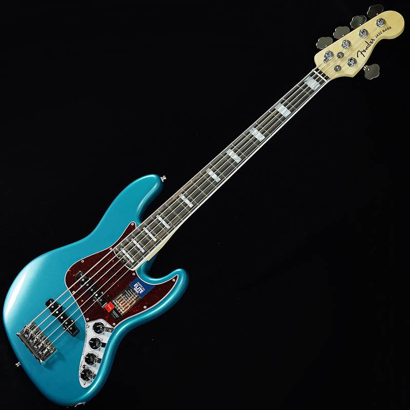 Fender American Elite Jazz Bass V (Ocean Turquoise/Ebony) [Made In USA] 【生産完了品】