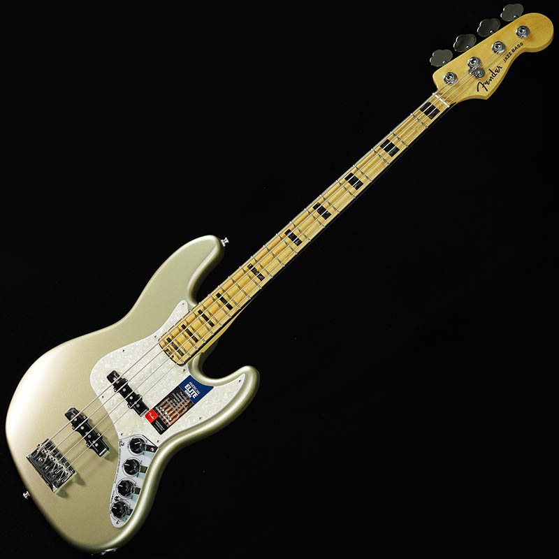 Fender American Elite Jazz Bass (Champagne/Maple) [Made In USA] 【生産完了品】