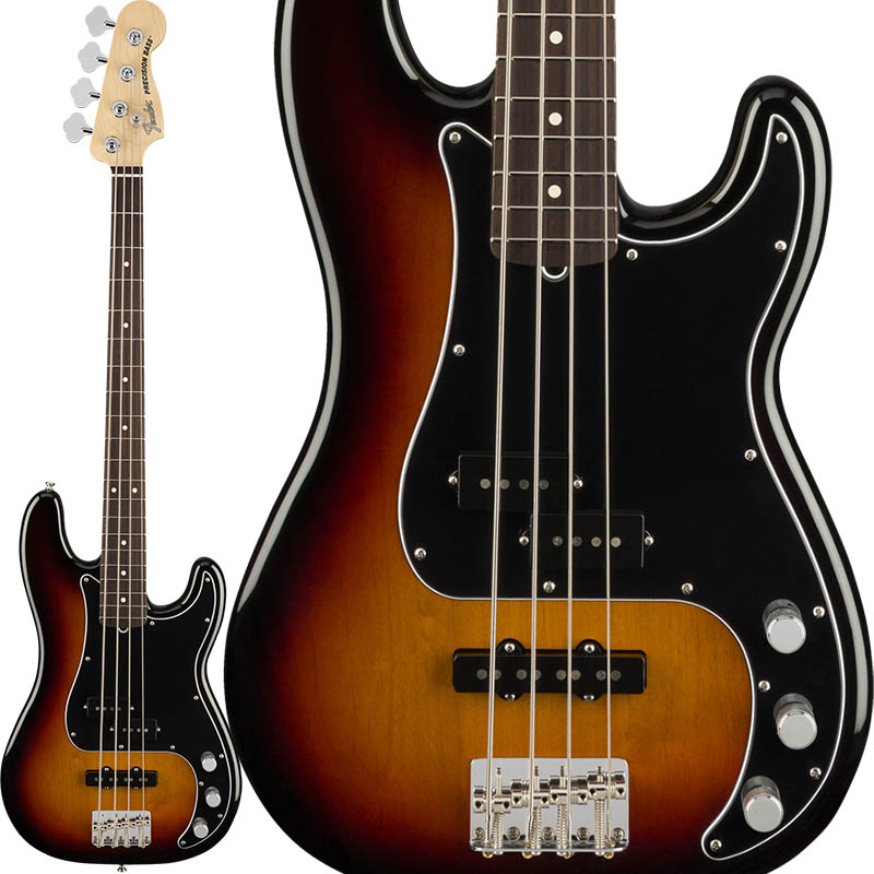 Fender American Performer Precision Bass (3-Color Sunburst/Rosewood) [Made In USA] 【ikbp5】