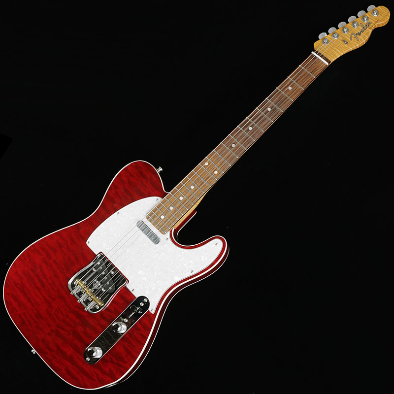Fender Custom Shop American Custom Telecaster Quilted Maple-Top (Bing Cherry Transparent/Rosewood) 【展示品処分特価】