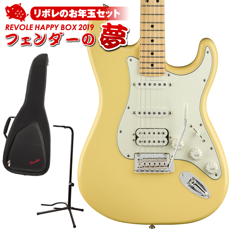 Fender Player Stratocaster HSS (Buttercream/Maple) [Made In Mexico] 【2セット限定お年玉セット】