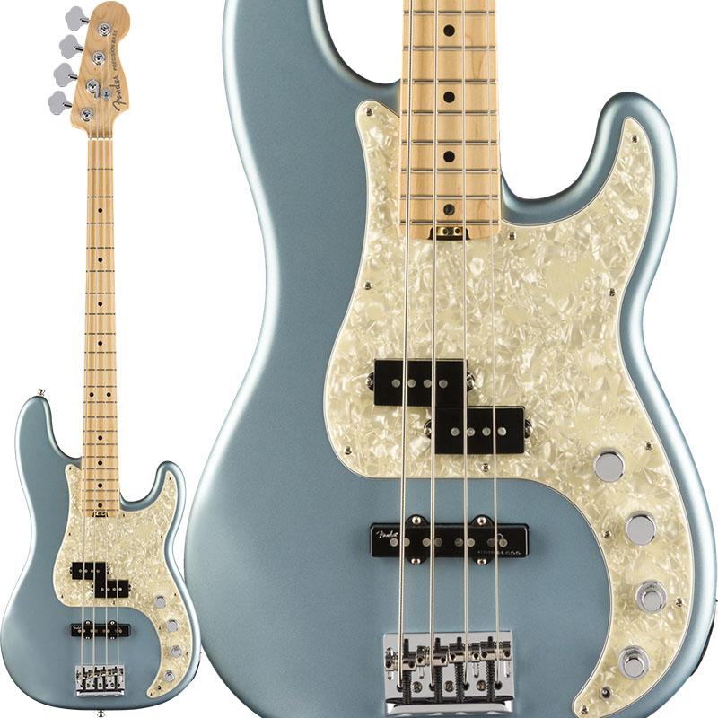 Fender American Elite Precision Bass (Satin Ice Blue Metallic/Maple) 【ikbp5】