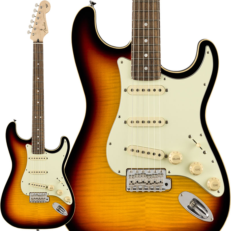 Fender Limited Edition Aerodyne Classic Stratocaster Flame Maple Top (3-Color Sunburst) [Made in Japan] 【ikbp5】