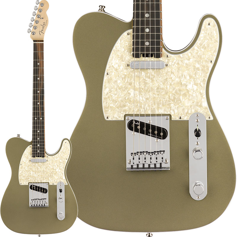Fender American Elite Telecaster (Satin Jade Pearl Metallic/Ebony) [Made In USA] 【ikbp5】