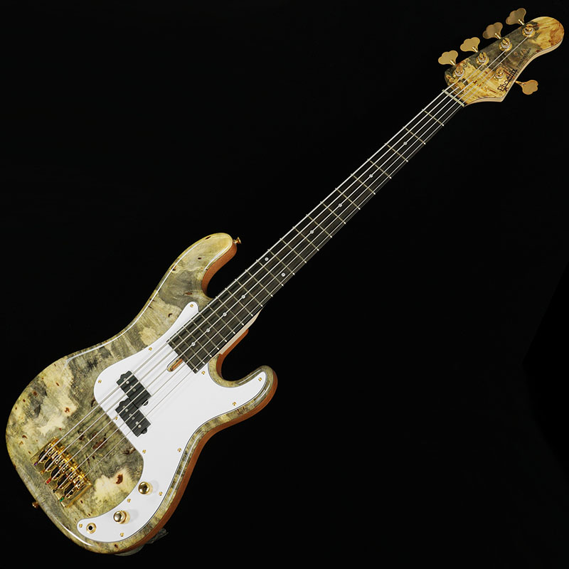 "Phoenix by TUNE Bomber Bass / BB-5-PB ""Buckeye Burl"" [IKEBE ORDER MODEL]"