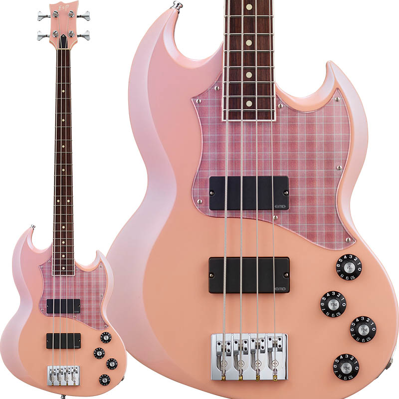ESP×BanG Dream! Collaboration Poppin'Party Series 牛込りみ Model VIPER BASS Rimi II 【受注生産品】