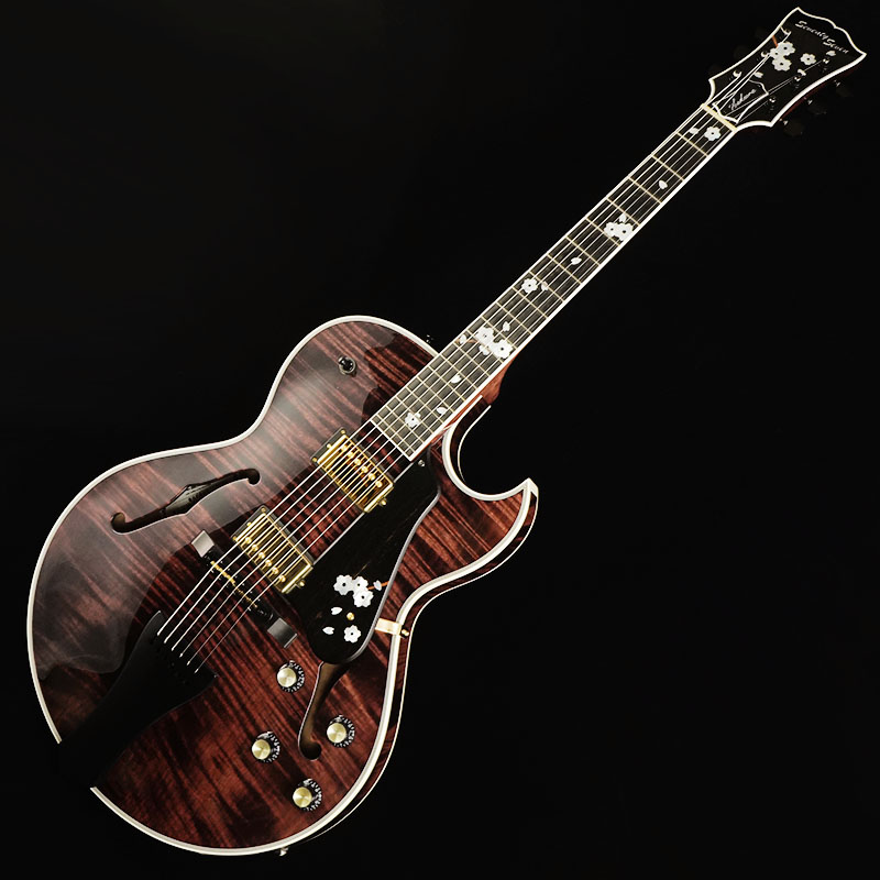 Seventy Seven Guitars HAWK/YOZAKURA-SP'19 【2019ディバイザー商談会選定品】