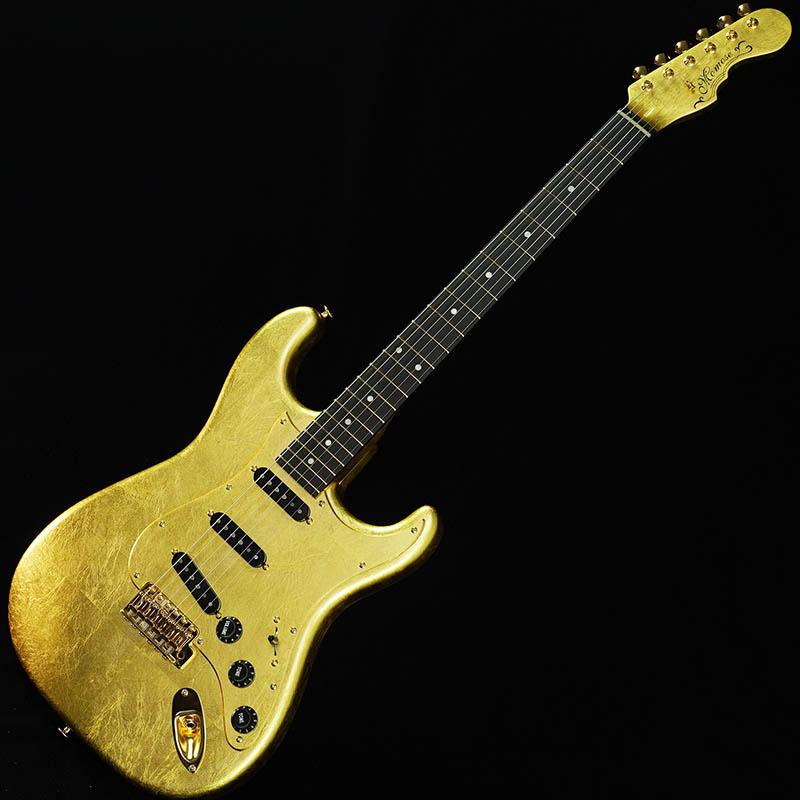 momose MC-Gold Leaf/E-SP'19 [石川県金沢市の金箔職人集団「箔一」とコラボレーションしたエレキギター] 【2019ディバイザー商談会選定品】