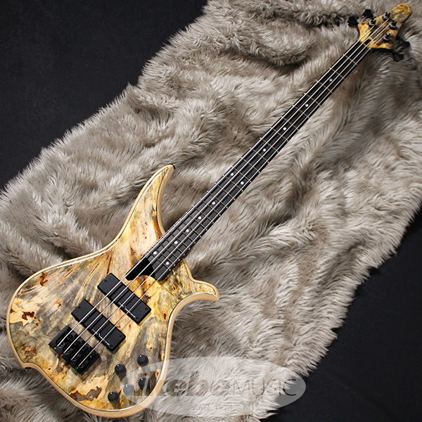 "TUNE TWB-4 EX ""1Pc.Buckeye Burl Top/Wenge Neck/Black Parts"""