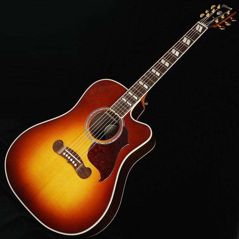 """【アコースティックギター】 Gibson Songwriter Studio Cutaway 2019 (Rosewood Burst) 【ikbp5】 【数量限定""""ギブソン特製ギグバッグ""""プレゼント!】"""