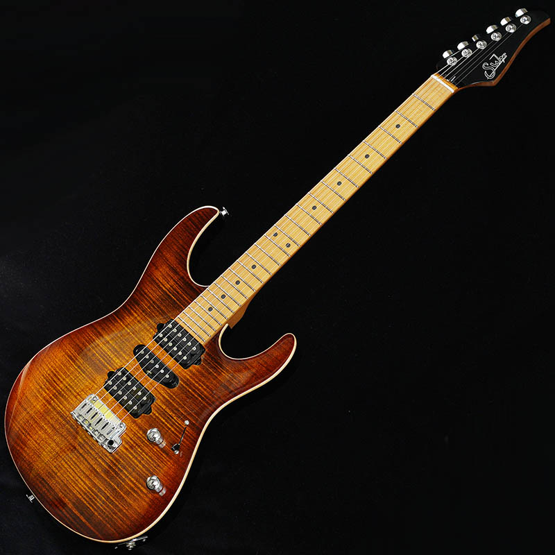 【エレキギター】 Suhr Guitars 2018 Core Line Series Modern Plus (Bengal Burst/Roasted Maple) [SN.JS8M7D]