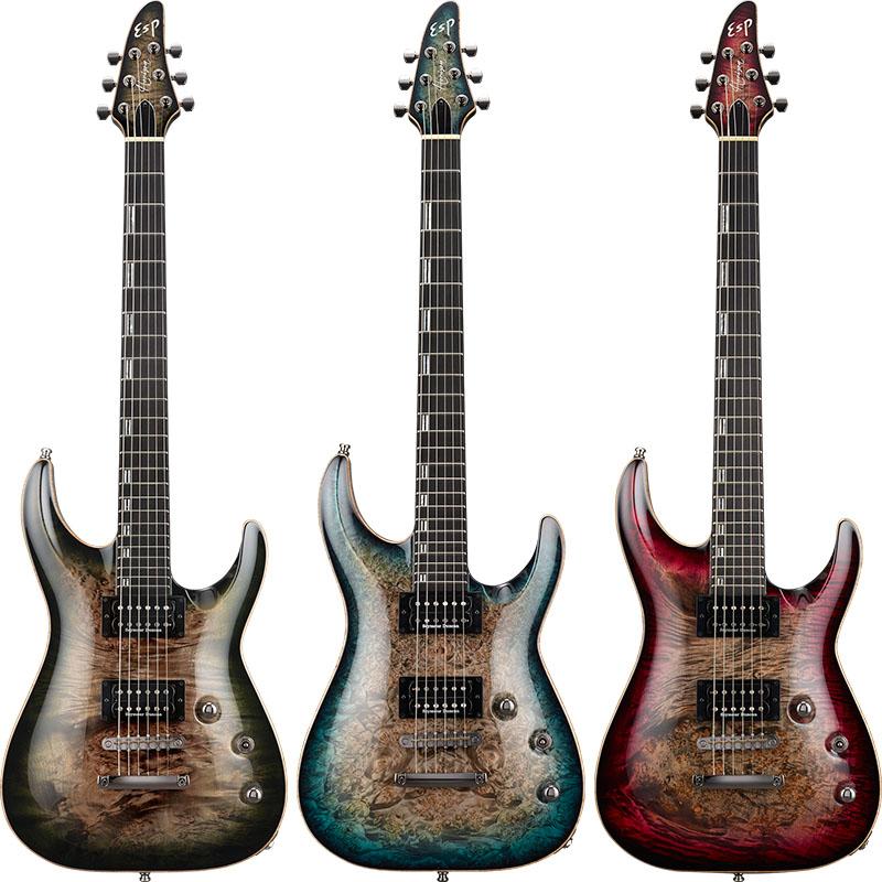 【エレキギター】 ESP HORIZON-CTM NT Burled Maple 【受注生産品】