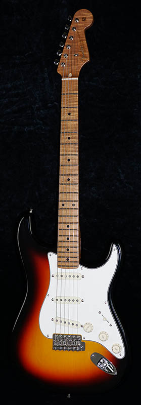 Fender USA CUSTOM SHOP IKEBE 40th Anniversary TBC 1958 Stratocaster NOS Roasted Maple Neck (3-Color Sunburst)