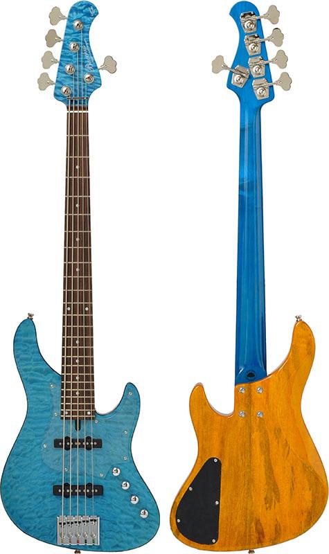 【絶品】 Bacchus GLOBAL GLOBAL Series IKEBE ORIGINAL HWL5-CUSTOM24/MG [5-strings HWL5-CUSTOM24/MG ORIGINAL Bass] (AQM/アクアマリン), シャリグン:d0610738 --- clifden10k.com