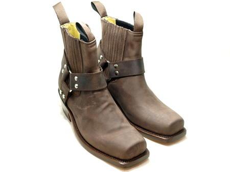 W_631_CHOCO西部长筒靴人本皮革*墨西哥制造*